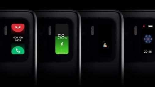 Второй дисплей в Xiaomi Mi 11 Ultra – это экран от фитнес-браслета Mi Band 5