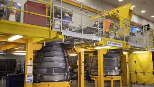 """NASA провело другі вогневі випробування двигуна RS-25 для місячної програми """"Артеміда"""""""