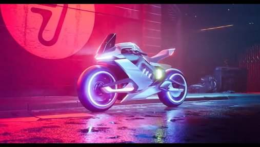 Segway-Ninebot показала гибридный электроводородный мотоцикл Apex H2