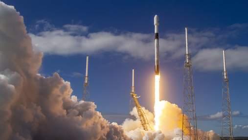 SpaceX вивела чергові 60 супутників Starlink і наблизилася до початкової мети в 1440 апаратів