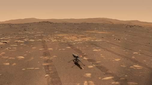 Марсіанський вертоліт Ingenuity порухав лопатями в рамках підготовки до польоту