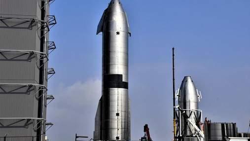 SpaceX готує до запуску черговий прототип космічного корабля Starship SN15