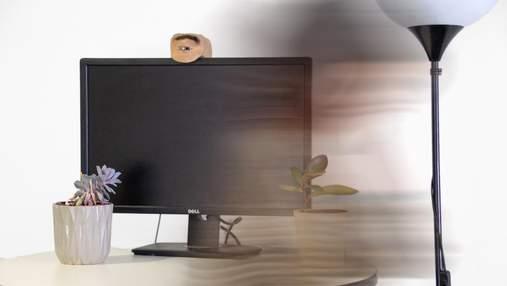 Моторошний ґаджет: для чого створили веб-камеру у формі людського ока – фото, відео