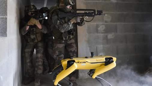 Робопса Boston Dynamics на полі бою протестувала французька армія