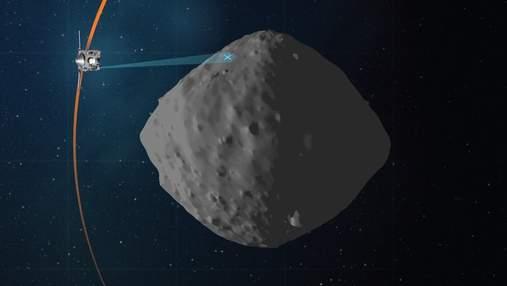 OSIRIS-REx зробив фінальний обліт астероїда Бенну