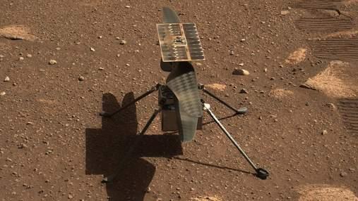 NASA відклало політ марсіанського вертольота через виявлену проблему
