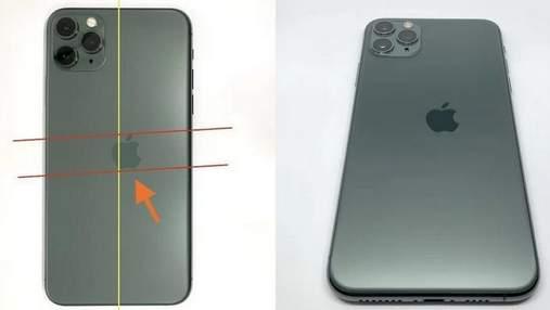 Кривой логотип Apple на iPhone повысил стоимость смартфона в разы