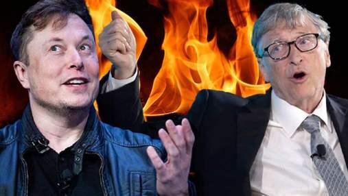 Ожесточенная вражда: главные истории, в которых между Маском и Гейтсом возникли споры