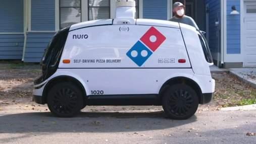 Domino's запустить у США доставку піци безпілотниками