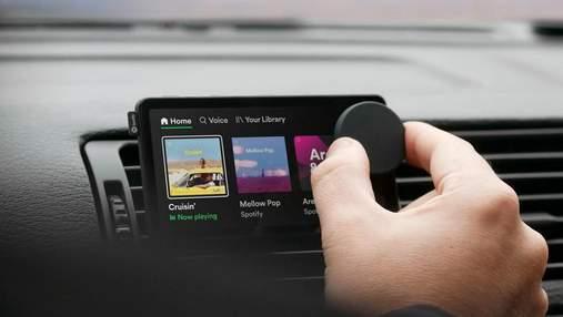 Spotify випускає перший пристрій – плеєр Car Thing з голосовим управлінням для автомобілів