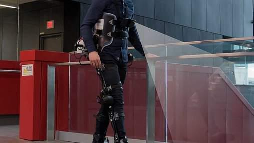 Інженери за допомогою камер та ШІ навчать екзоскелети ходити самостійно
