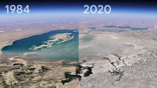 Как изменилась планета за 37 лет: Google Earth представил функцию таймлапса – впечатляющие видео