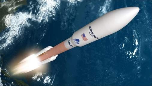 Джефф Безос обрав чужу компанію для виводу супутників на орбіту