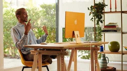 Apple представила новый iMac в ярком дизайне и с процессором М1