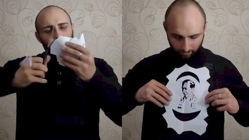 Портреты из бумаги принесли тиктокеру миллионы просмотров: обалденные видео