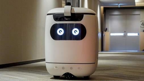 Японцы научили робота-курьера самостоятельно ездить лифтом: фото, видео