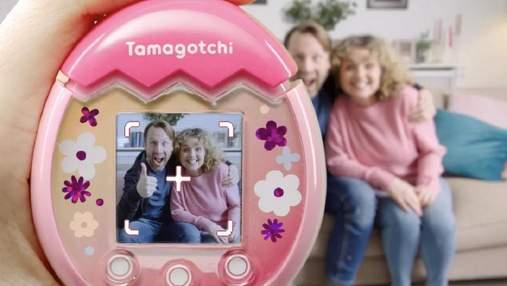 Тамагочи возвращается: теперь с камерой для селфи с вашим любимцем