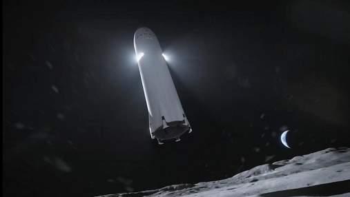 Илон Маск уверен, что SpaceX под силу высадить людей на Луну в 2024 году