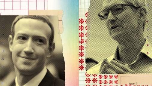 Facebook проти Apple: чому Марк Цукерберг і Тім Кук стали ворогами