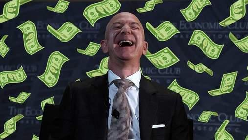 Понадобится 550 лет, чтобы Джефф Безос потратил все свои деньги: почему так долго