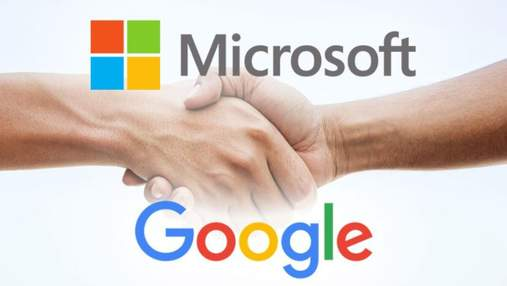 Microsoft і Google мають різні стратегії в хмарах, але одну мету – обігнати Amazon