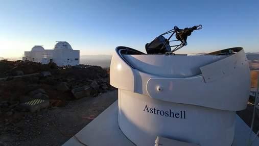 Глаз насекомого: прототип телескопа для поиска астероидов сделал первое фото