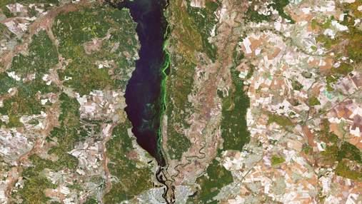 Космічне узбережжя в об'єктиві європейського супутника