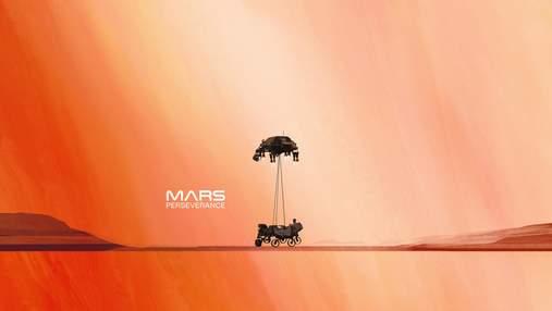 Марсохід сфотографував марсіанське нічне небо: фото