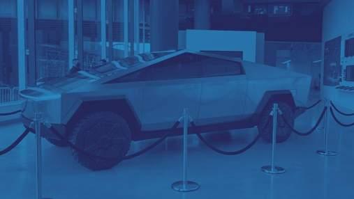 Ілон Маск привіз прототип електричного пікапа Cybertruck в Нью-Йорк