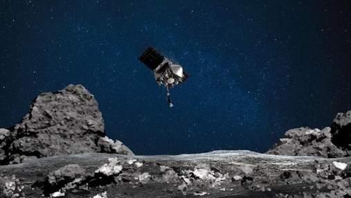 Зонд OSIRIS-REx попрощався з астероїдом Бенну і відправився до Землі