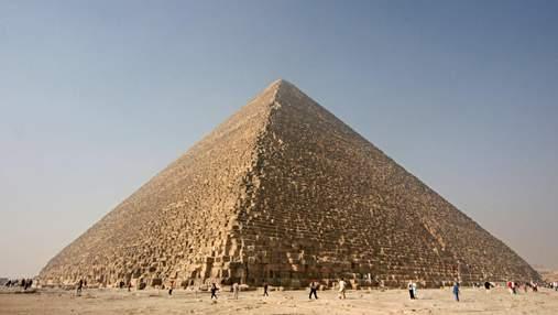 Як дослідити піраміди за допомогою космічного випромінювання