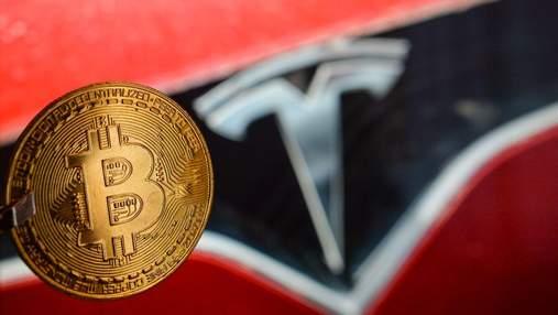 Ілон Маск передумав продавати Tesla за біткойни: криптовалюта різко впала