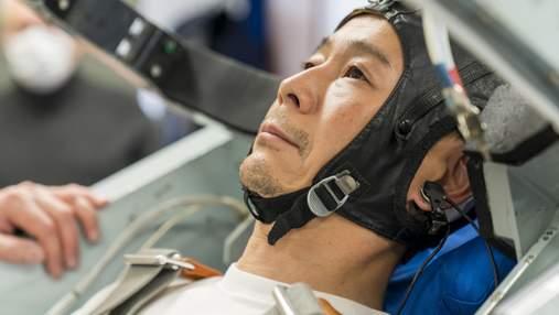 Японський мільярдер, який через два роки облетить Місяць, спочатку злітає на МКС