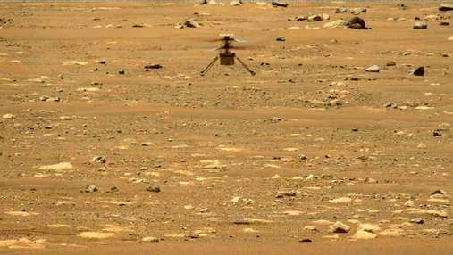 NASA опублікувало 3D-відео третього польоту марсіанського вертольота Ingenuity