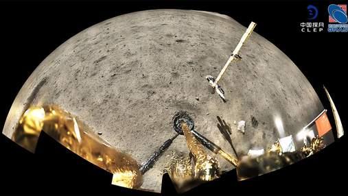 Моторошні фотографії з глибокого космосу зроблені станцією Chang'e 5
