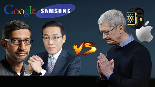 "Google и Samsung объявляют ""войну"" Apple Watch"