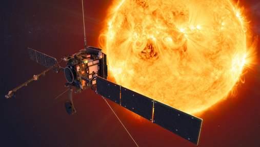 Зонд Solar Orbiter впервые записал видео гигантского выброса плазмы с поверхности Солнца