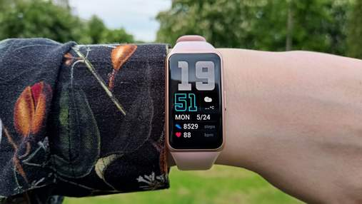 Огляд Huawei Band 6: стильний смартгодинник із великим дисплеєм