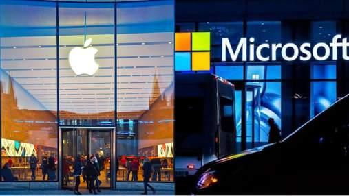 Apple подозревает, что Microsoft и Epic Games сговорились против нее в суде