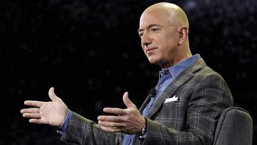 Джефф Безос покине посаду гендиректора Amazon: відомі дата і наступник