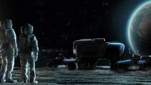 Lockheed Martin і General Motors розроблять для NASA місячний електромобіль