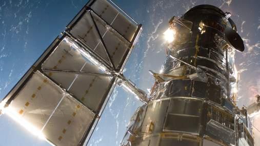 """Новая фотография от """"Хаббла"""": однобокая галактика"""