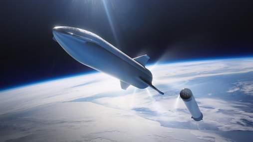 Ілон Маск показав свіже фото нового прототипу Starship SN16
