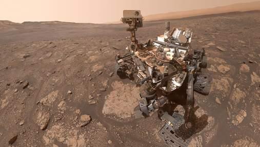 "Марсоход ""Кьюриосити"" обнаружил серебристые облака: фото"