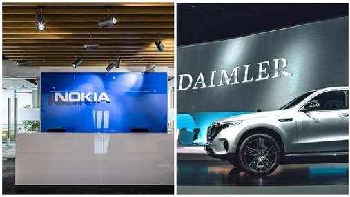Затянувшийся спор закончился: Mercedes-Benz и Nokiа наконец договорились об 3G и 4G