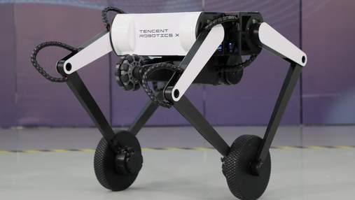 Двухколесный робот-акробат от Tenscent легко прыгает и держит равновесие: видео