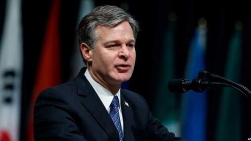 Директор ФБР сравнил атаки хакеров на США с терактами 11 сентября