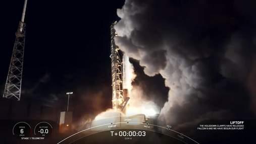 SpaceX вивела на орбіту супутник SXM-8 та здійснила рекордну успішну посадку першого ступеня