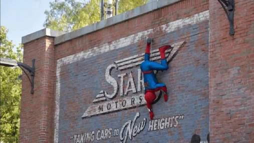 Как живой: в калифорнийском Диснейленде появился аниматронный робот Человека-паука –  видео