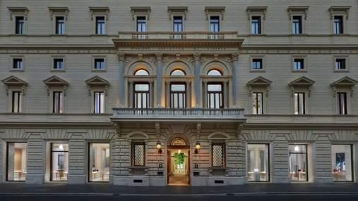 Революційне перетворення: в Римі будівлю Палаццо Маріньолі перетворили на магазин Applе